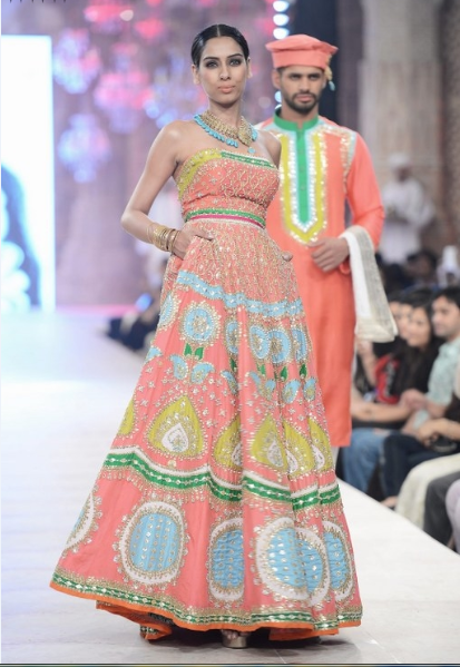 Ali Xeeshan Latest Wedding Bridal Collections at  PFDC L'Oréal Paris Bridal Fashion Week-2014-2015 (1)