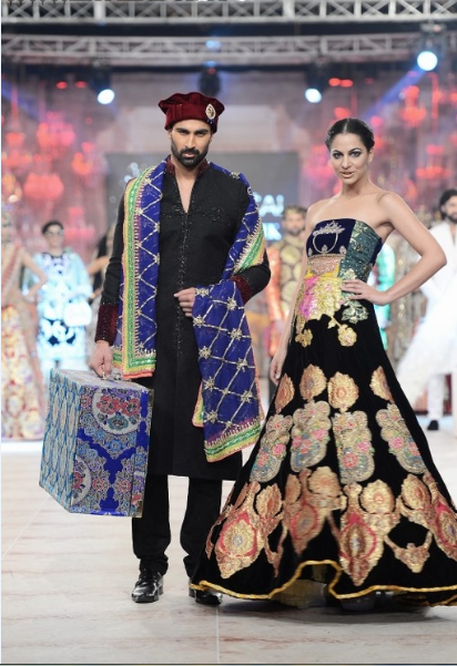 Ali Xeeshan Latest Wedding Bridal Collections at  PFDC L'Oréal Paris Bridal Fashion Week-2014-2015 (3)