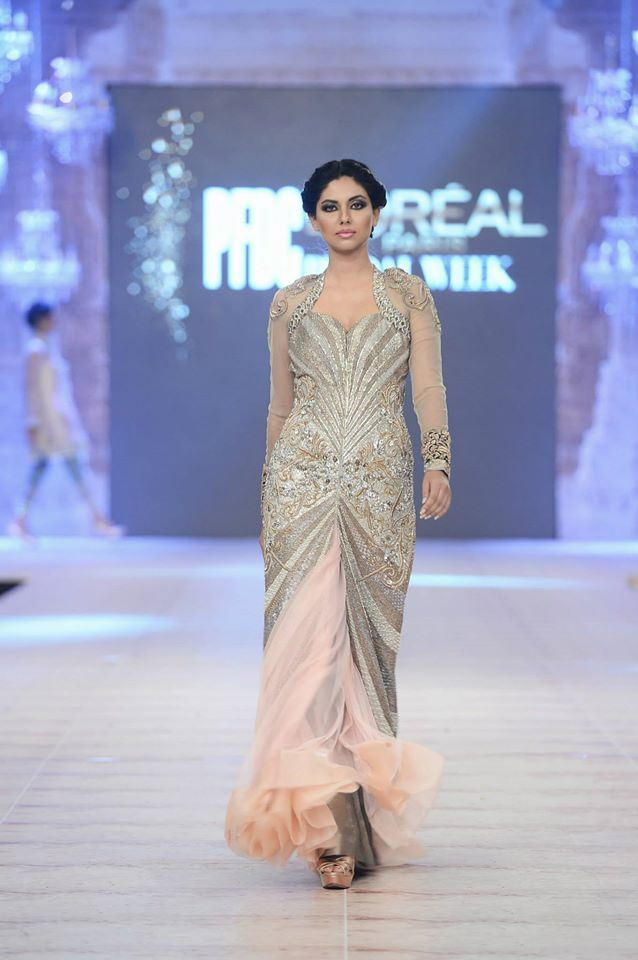 Ammara Khan Latest wedding Collections@  PFDC L'Oréal Paris Bridal Fashion Week 2014-2015 Latest Collections of Popular Pakistani Designers (1)