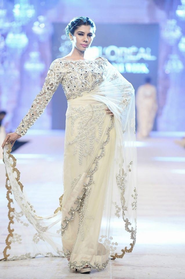 Ammara Khan Latest wedding Collections@  PFDC L'Oréal Paris Bridal Fashion Week 2014-2015 Latest Collections of Popular Pakistani Designers (2)