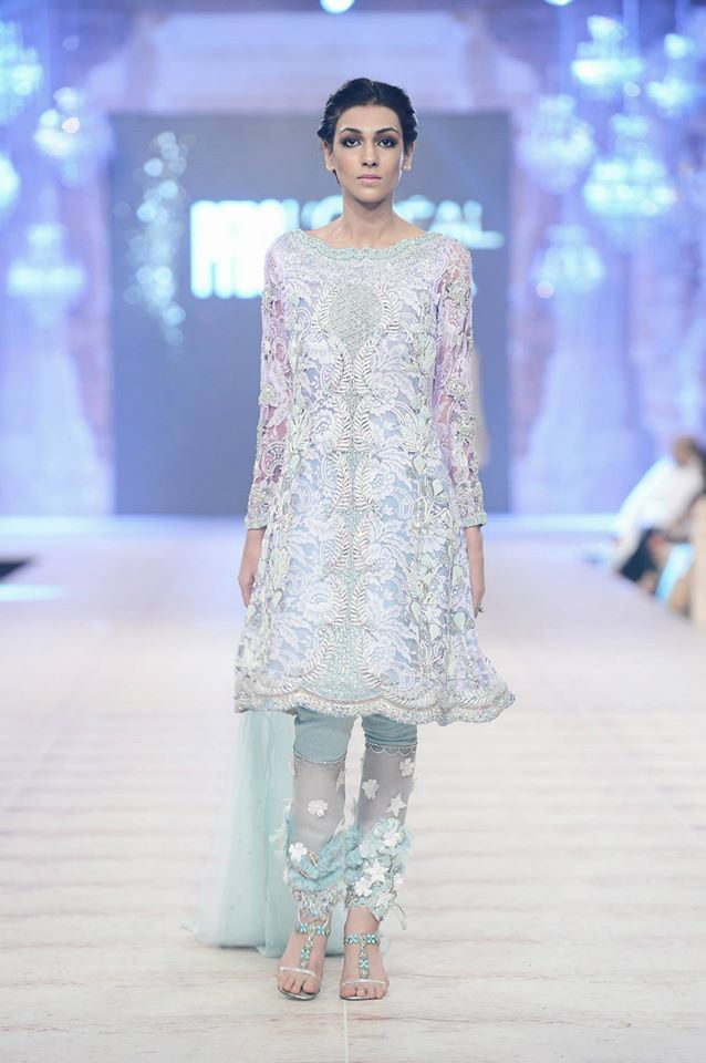 Ammara Khan Latest wedding Collections@  PFDC L'Oréal Paris Bridal Fashion Week 2014-2015 Latest Collections of Popular Pakistani Designers (3)