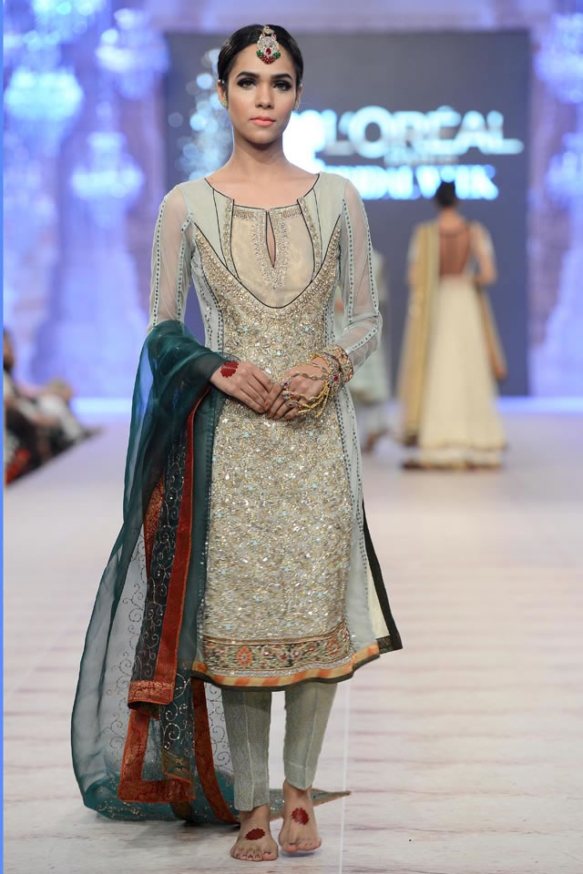 Asifa Nabeel Latest Bridal Collections at  PFDC L'Oréal Paris Bridal Fashion Week-2014-2015 (4)