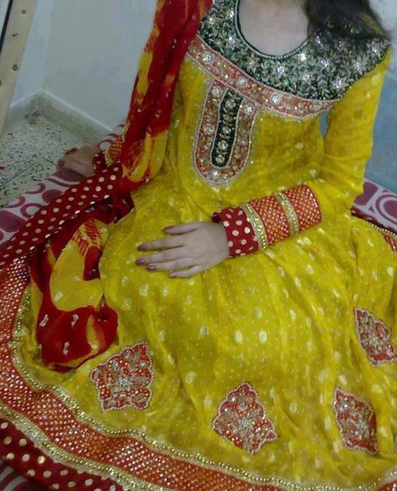 Mehndi dress 2015 new style