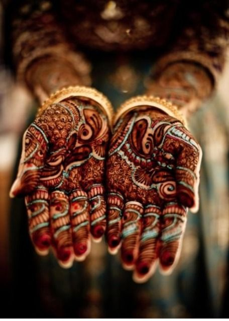 Best & Easy Indian Mehndi Designs Latest Collection for Hands & Feet 2015 (10) - Copy