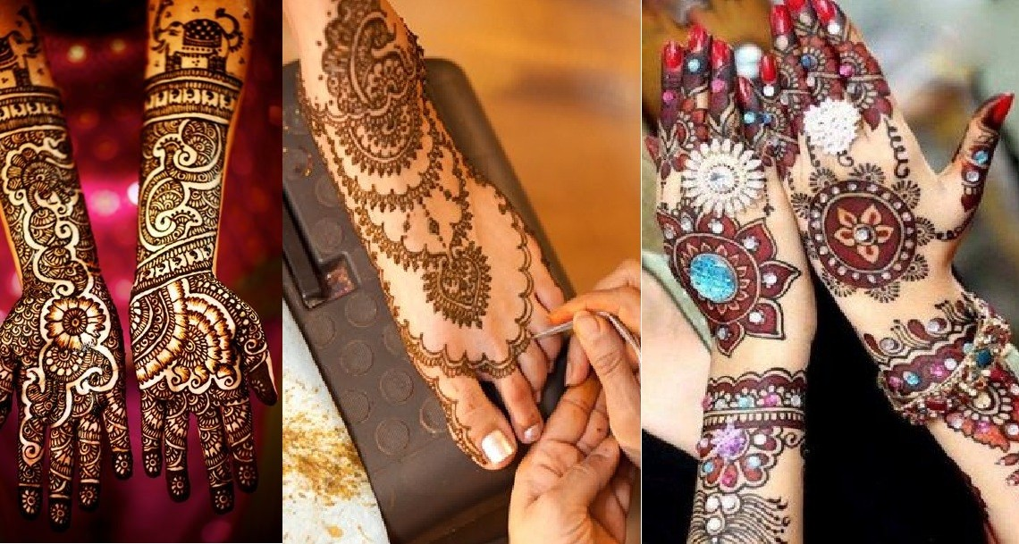 Trending Mehndi Designs 50 Latest Henna Tattoo Ideas For 2018: Best Indian Mehndi Designs Latest 2017-2018 Collection