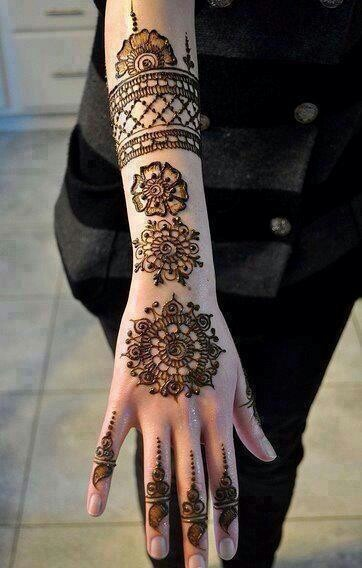 Best & Easy Indian Mehndi Designs Latest Collection for Hands & Feet 2015 (14) - Copy