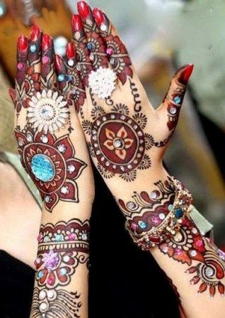 Best & Easy Indian Mehndi Designs Latest Collection for Hands & Feet 2015 (18) - Copy