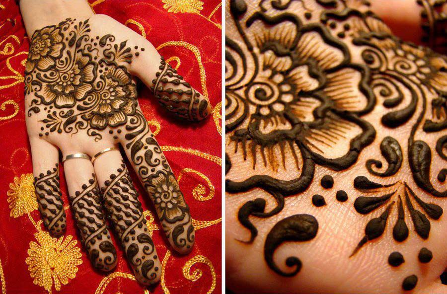 Mehndi Design For Bridal Collection : Special beautiful mehndi designs for eid events  collection