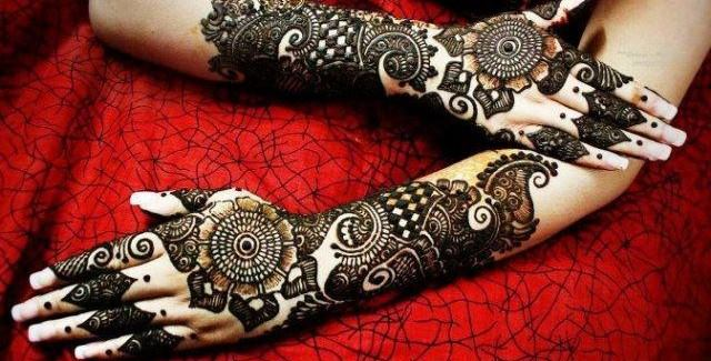 Best & Special Mehndi Designs Collection for Eid & Festivals 2014-2015 (13)