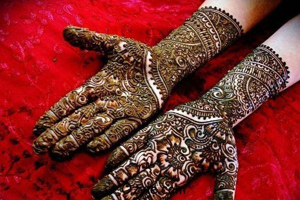 Best & Special Mehndi Designs Collection for Eid & Festivals 2014-2015 (16)