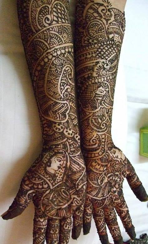 Best & Special Mehndi Designs Collection for Eid & Festivals 2014-2015 (24)