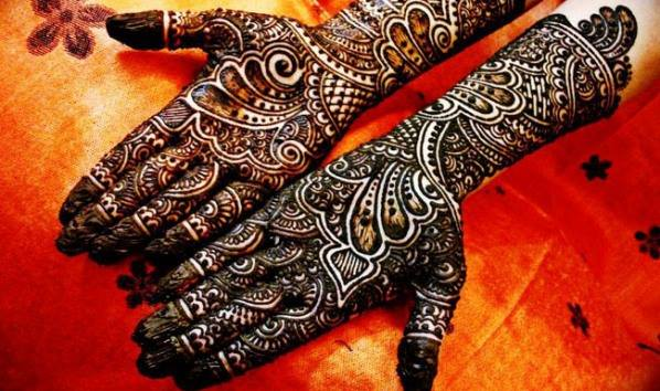 Best & Special Mehndi Designs Collection for Eid & Festivals 2014-2015 (27)