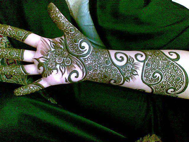 Best & Special Mehndi Designs Collection for Eid & Festivals 2014-2015 (3)
