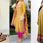 Best & Latest Mehndi Dresses Designs Collection 2016-2017