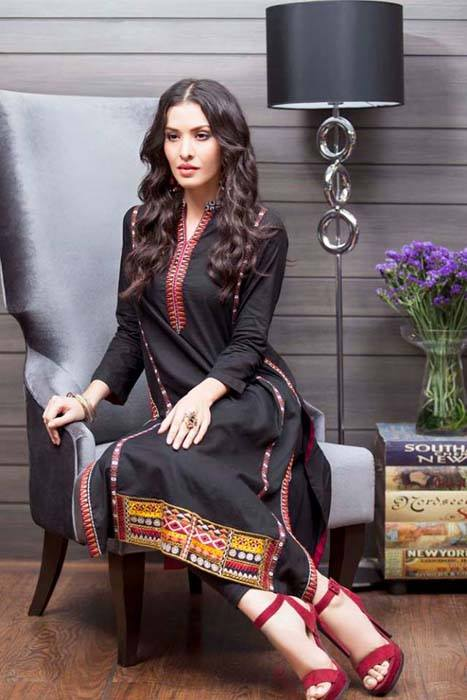 Gul Ahmed Best Winter Dresses Collection for Women 2014-2015 (17)