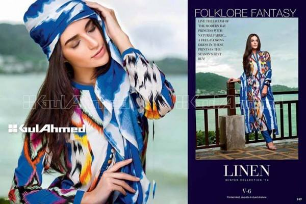 Gul Ahmed Best Winter Dresses Collection for Women 2014-2015 (20)