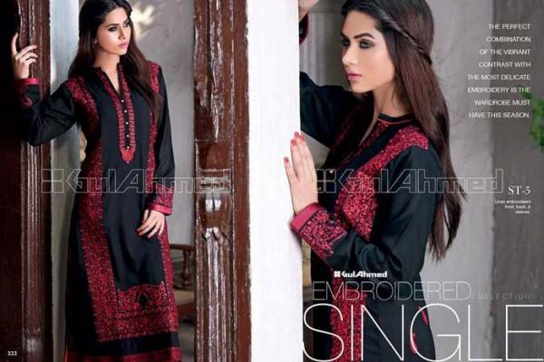 Gul Ahmed Best Winter Dresses Collection for Women 2014-2015 (23)