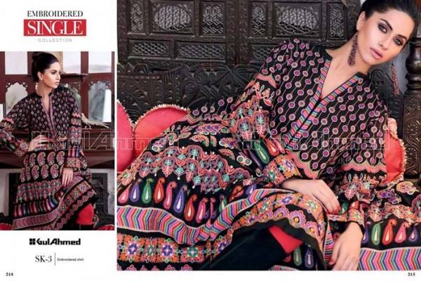 Gul Ahmed Best Winter Dresses Collection for Women 2014-2015 (9)