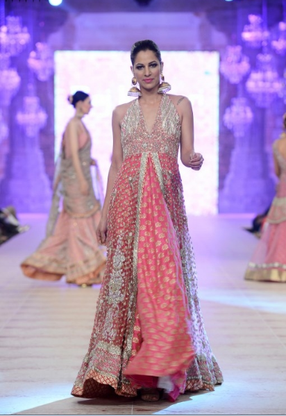 Karma Red Latest Bridal Collections at  PFDC L'Oréal Paris Bridal Fashion Week-2014-2015 (5)