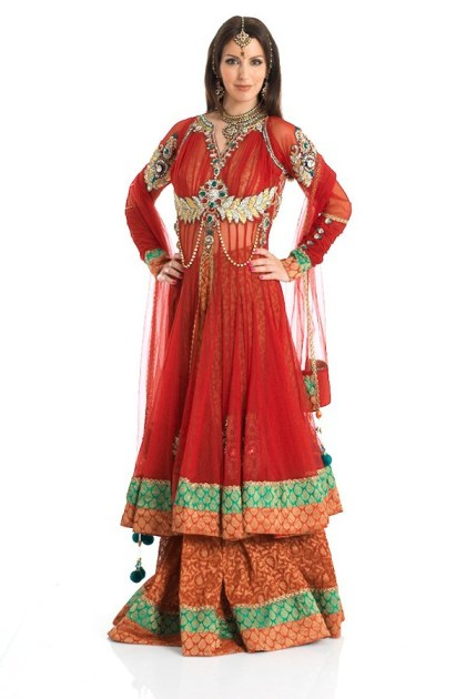 Latest Collection of Indian Lehenga Designs for wedding and Parties 2014- 2015 (1)
