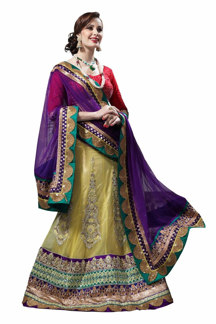 Latest Collection of Indian Lehenga Designs for wedding and Parties 2014- 2015 (17)