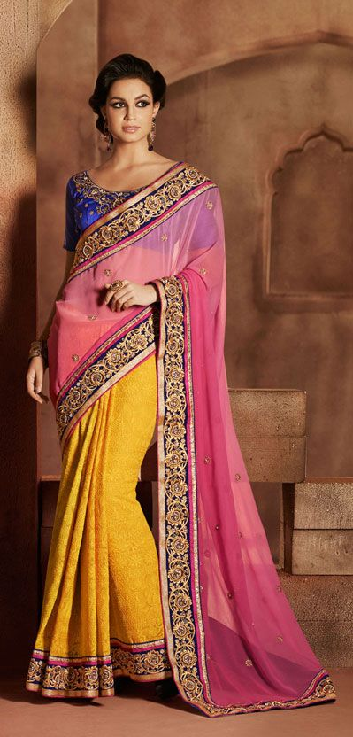 Latest Collection of Indian Lehenga Designs for wedding and Parties 2014- 2015 (18)