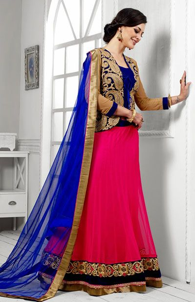 Latest Collection of Indian Lehenga Designs for wedding and Parties 2014- 2015 (20)