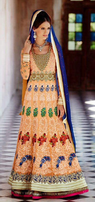 Latest Collection of Indian Lehenga Designs for wedding and Parties 2014- 2015 (23)