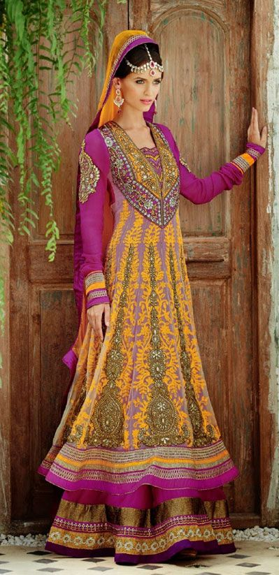 Latest Collection of Indian Lehenga Designs for wedding and Parties 2014- 2015 (24)