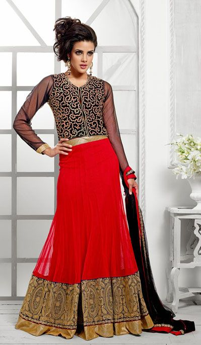 Latest Collection of Indian Lehenga Designs for wedding and Parties 2014- 2015 (29)