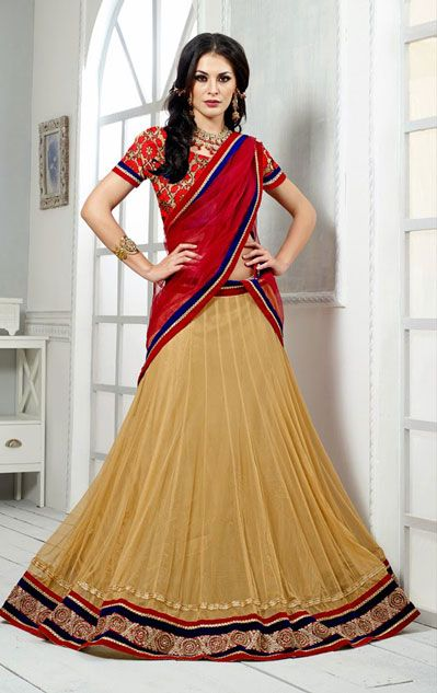 Latest Collection of Indian Lehenga Designs for wedding and Parties 2014- 2015 (32)