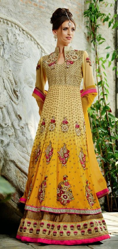 Latest Collection of Indian Lehenga Designs for wedding and Parties 2014- 2015 (34)