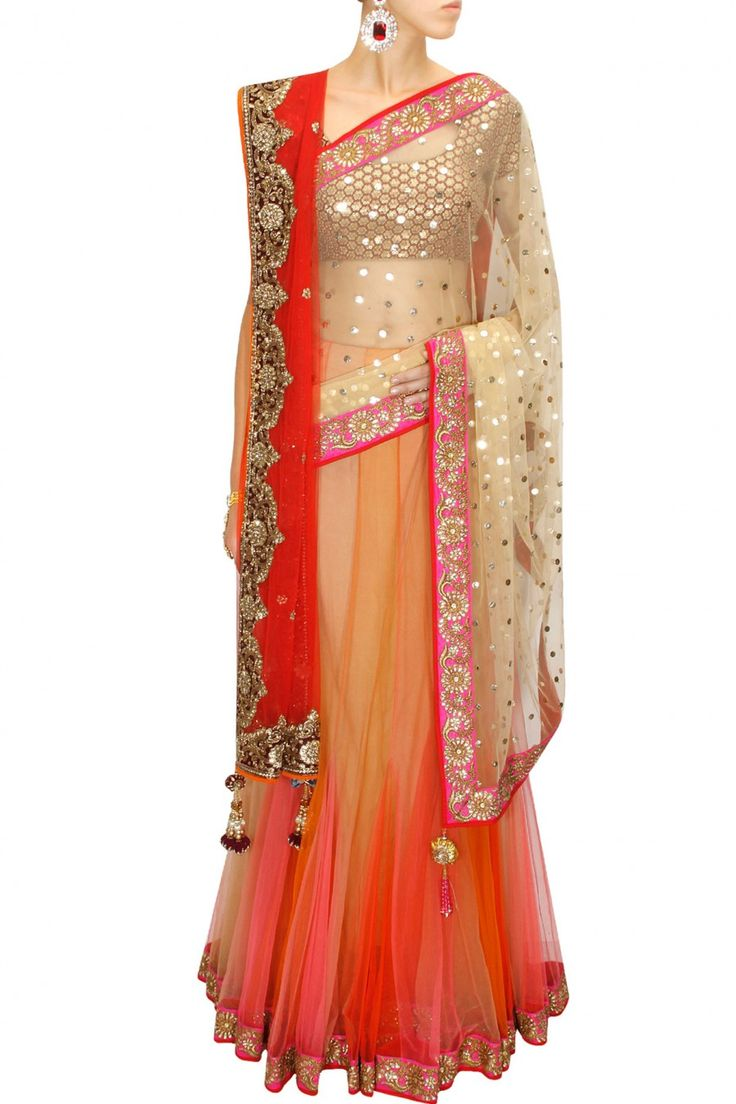 Latest Collection of Indian Lehenga Designs for wedding and Parties 2014- 2015 (36)