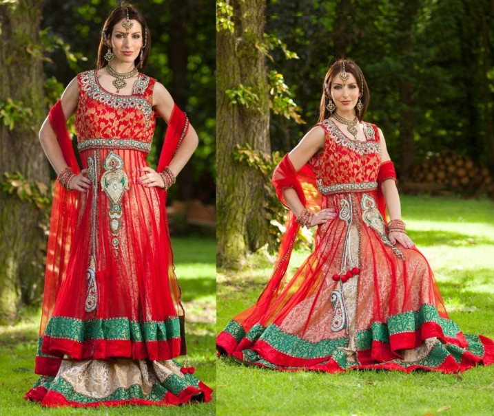 Latest Collection of Indian Lehenga Designs for wedding and Parties 2014- 2015 (38)