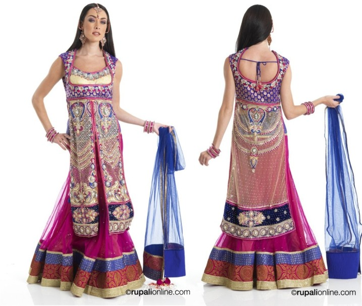 Latest Collection of Indian Lehenga Designs for wedding and Parties 2014- 2015 (39)