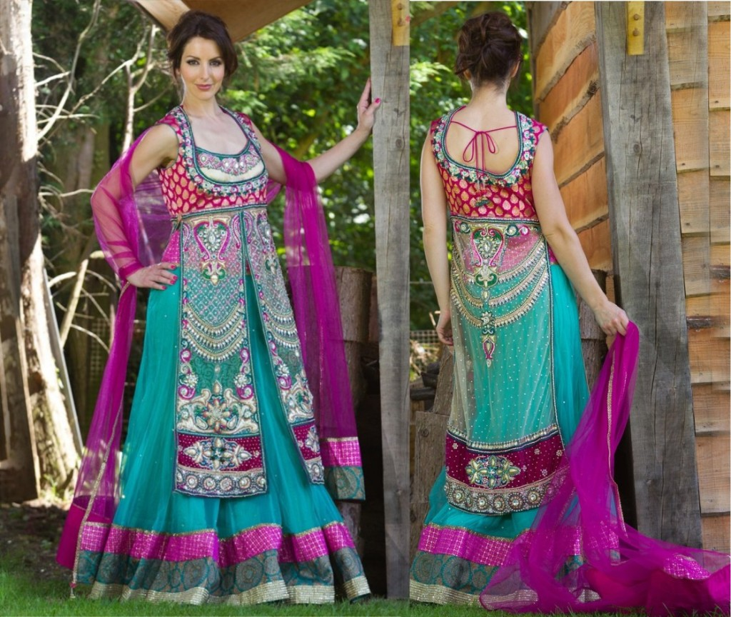 Latest Collection of Indian Lehenga Designs for wedding and Parties 2014- 2015 (40)