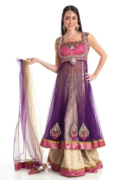 Latest Collection of Indian Lehenga Designs for wedding and Parties 2014- 2015 (41)