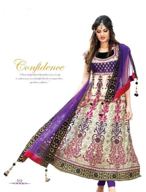 Latest Collection of Indian Lehenga Designs for wedding and Parties 2014- 2015 (5)