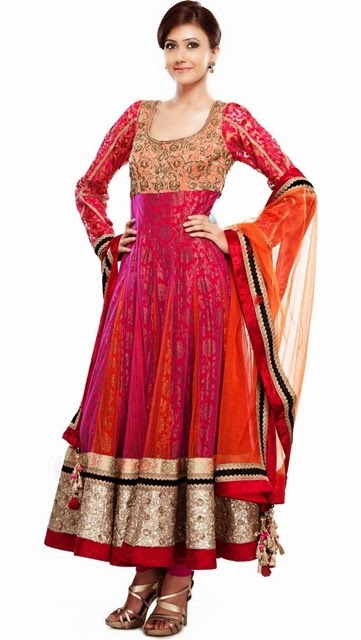 Latest Collection of Indian Lehenga Designs for wedding and Parties 2014- 2015 (6)