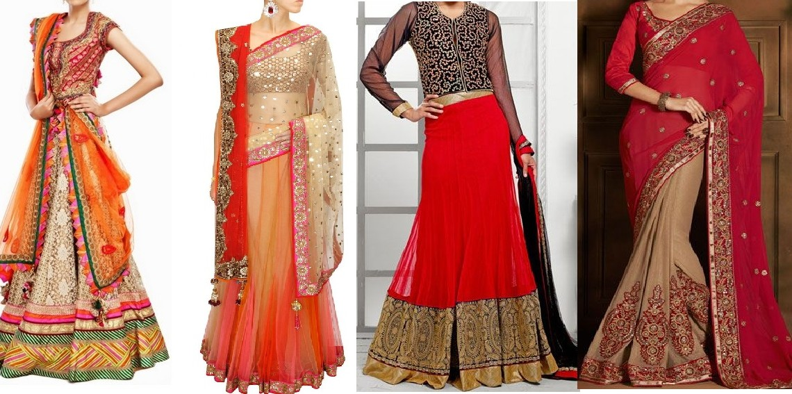 Latest Collection of Indian Lehenga Designs for wedding and Parties 2015 (7)