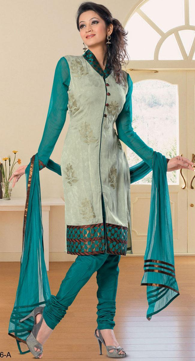 Latest Collection of Indian & Pakistani Best Neck-line (Gala) designs for Girls 2014-2015 (5)