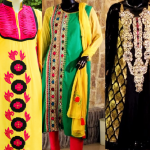 Latest Indian & Pakistani Best Neck-line (Gala) designs for Girls