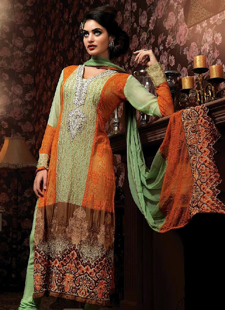 Latest Winter Fashion Long Shirts Dress Designs Collection for Women 2014-2015 (10)