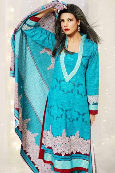 Latest Winter Fashion Long Shirts Dress Designs Collection for Women 2014-2015 (13)