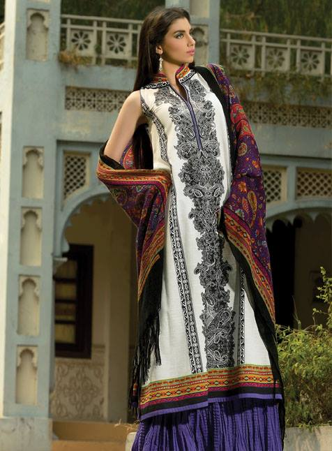 Latest Winter Fashion Long Shirts Dress Designs Collection for Women 2014-2015 (14)
