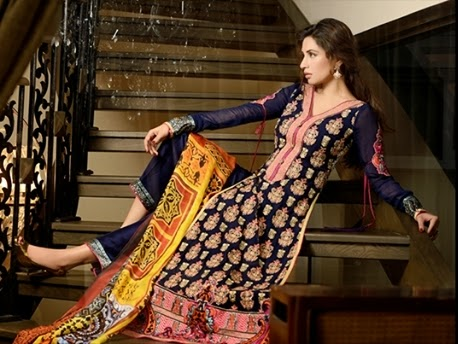 Latest Winter Fashion Long Shirts Dress Designs Collection for Women 2014-2015 (15)
