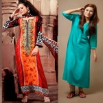 Latest Winter Fashion Long Shirts Dress Designs Collection for Women 2014-2015