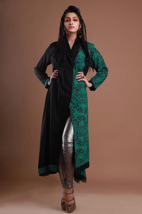Latest Winter Fashion Long Shirts Dress Designs Collection for Women 2014-2015 (16)