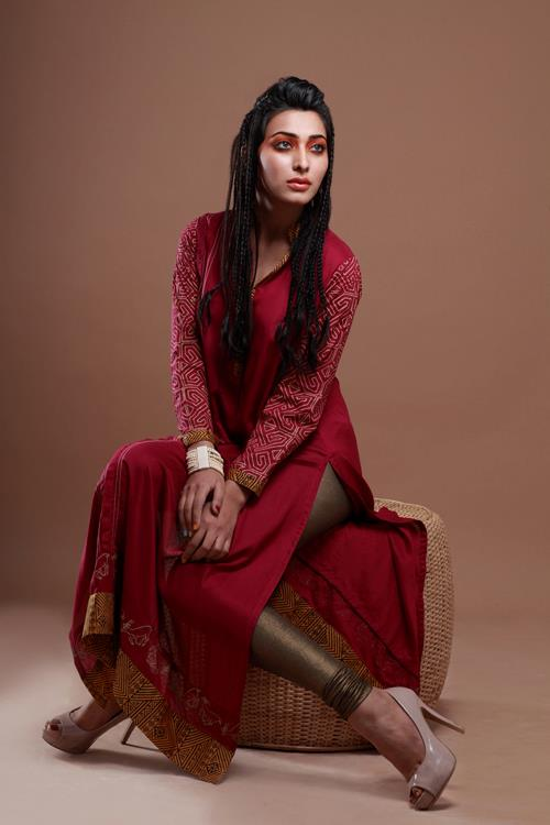 Latest Winter Fashion Long Shirts Dress Designs 2014-2015 ...