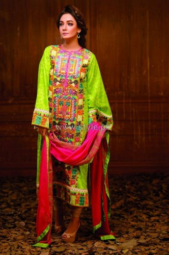 Latest Winter Fashion Long Shirts Dress Designs Collection for Women 2014-2015 (22)